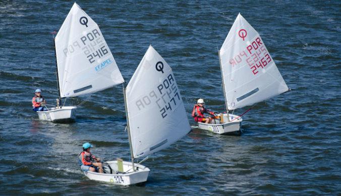 Baza Tałty - obozy dla najmłodszych na jachtach klasy Optymist