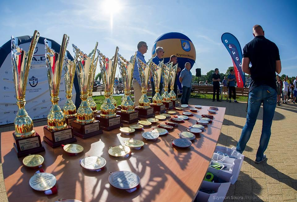 Wychowankowie Bazy Tałty na podium Pucharu PZŻ w olimpijskiej klasie 49'er!