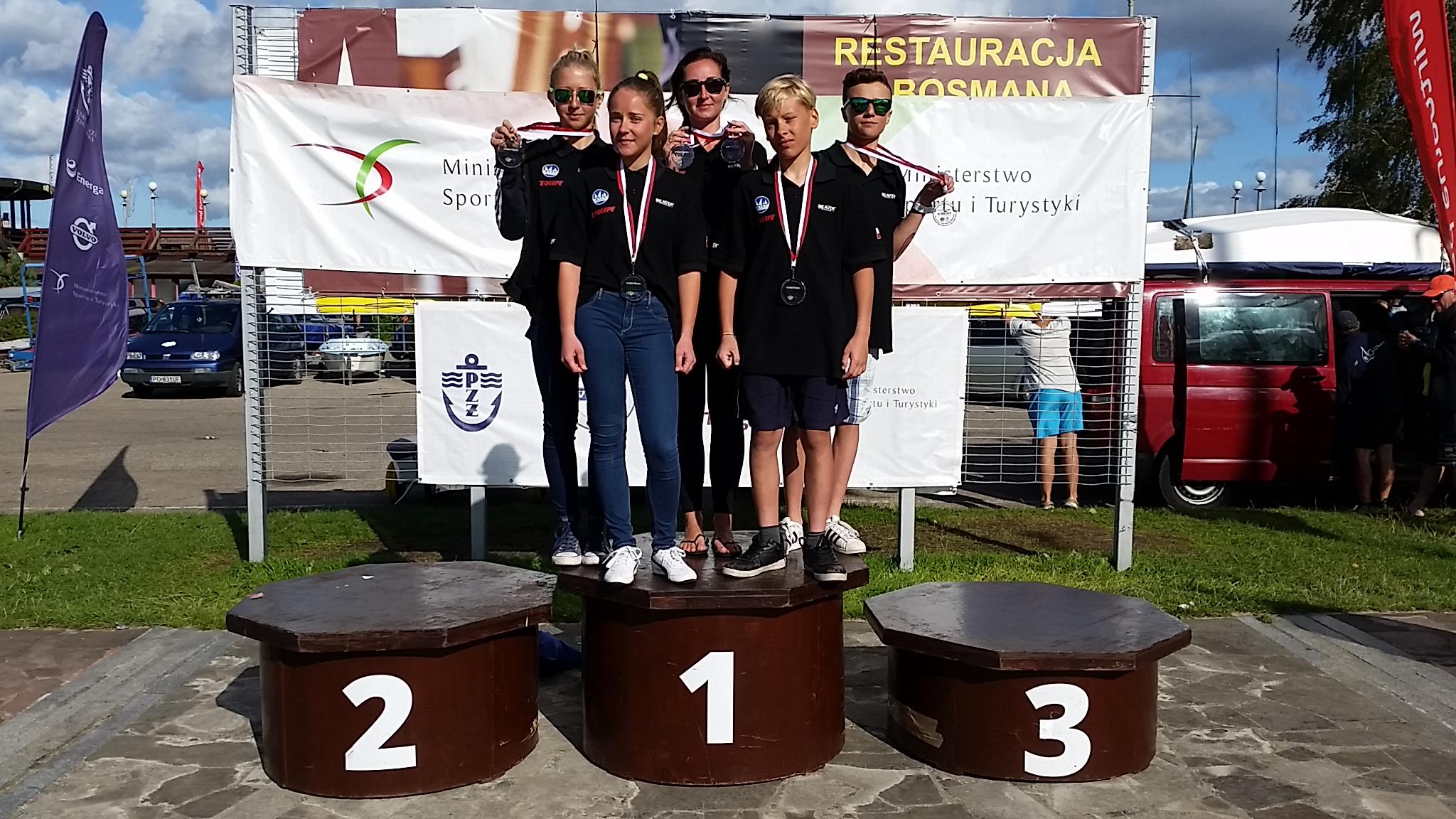 Mistrzostwa Polski (OOM) – dwa medale reprezentantów Bazy Mrągowo w klasie L'Equipe!